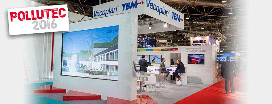 Vecoplan/TBM était présent au salon Pollutec 2016