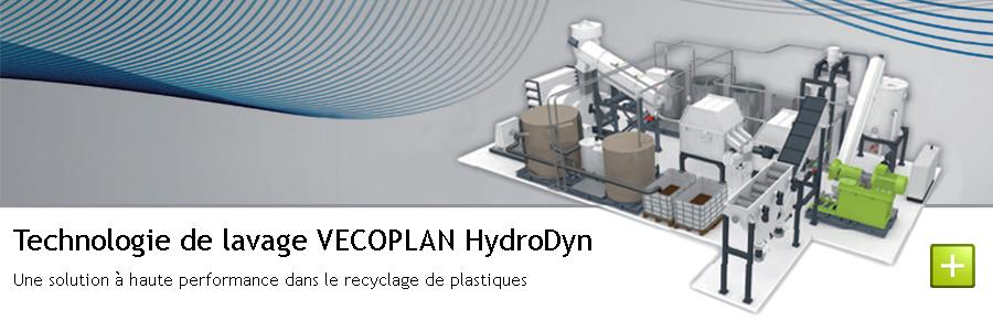Technologie de lavage VECOPLAN HydroDyn